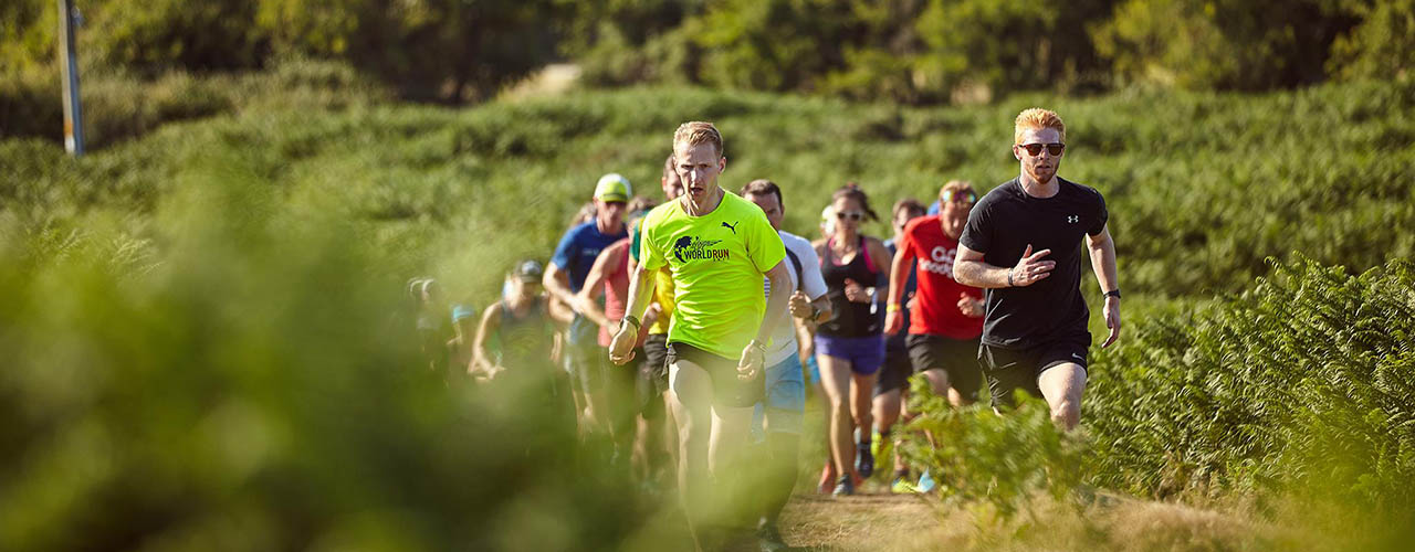 WILD TRAIL RUNNERS HILL SESSION