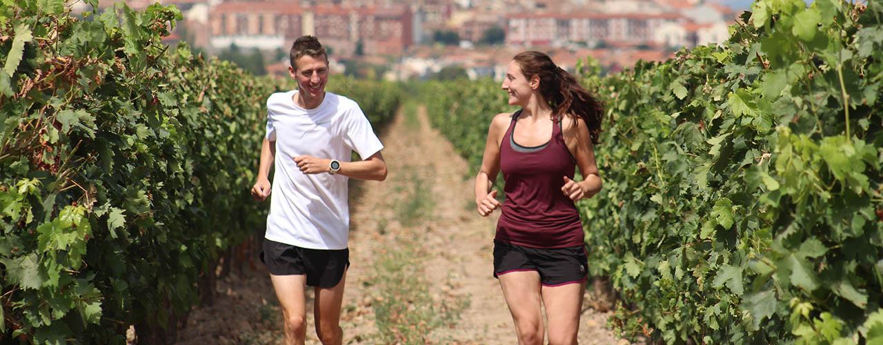 Run to Wine Tasting