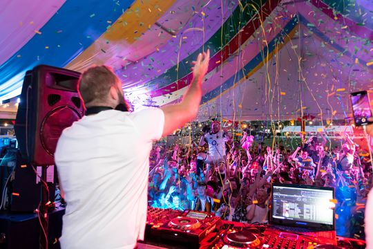 VIP Colour Party