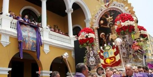 Peruvian Culture: Celebration of Lord of the Miracles