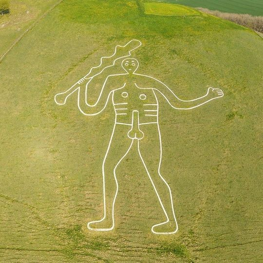 Find Goliath at Cerne Abbas (4 miles)