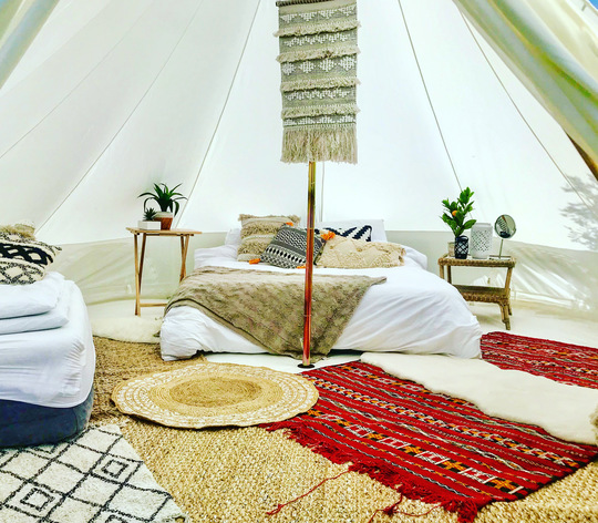 Glamping by Tee & Toast | Soul Circus 2021
