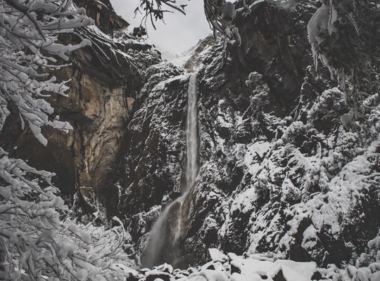 Winter at Yosemite
