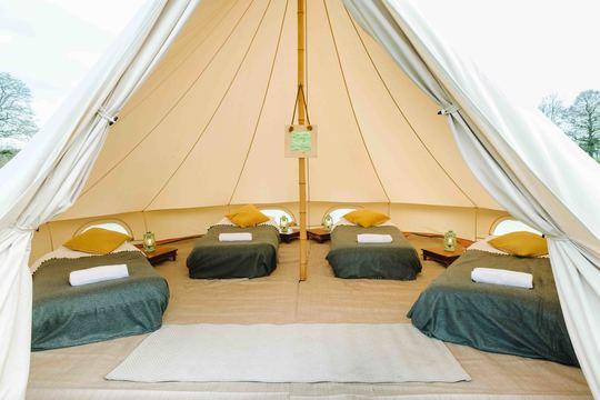 Luxury Bell Tent - Week 2