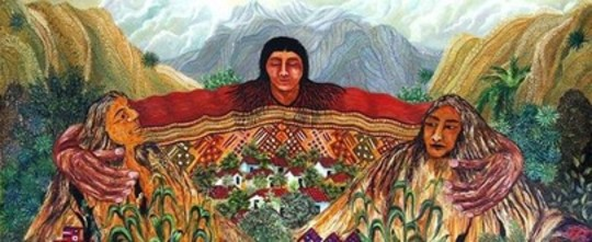 Gratitude to our Mother Earth in the Andes Mountains