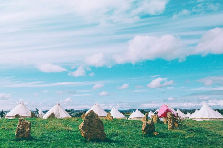 Farmfest 2021 Bell Tents