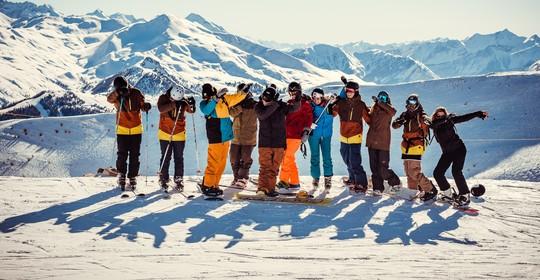 Quelques jours au ski entre potes avant Noël en famille 🎄✨
