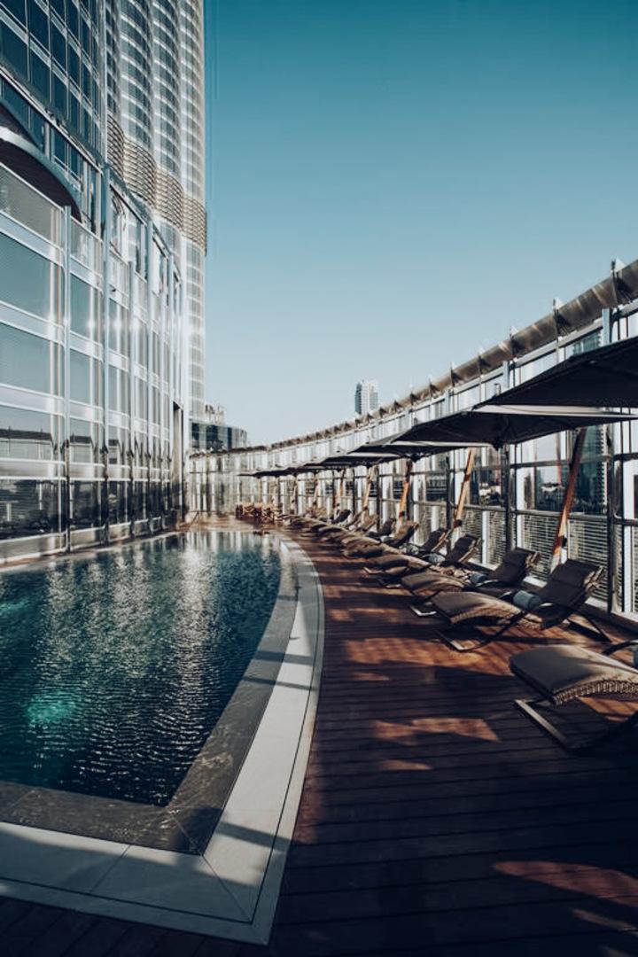 Armani Hotel Pool