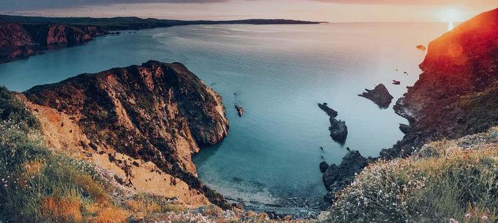 Magical coastline