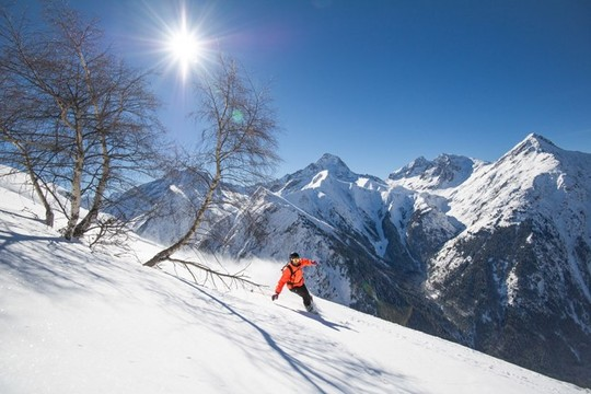 Le domaine skiable :  il y en a pour tous les goûts