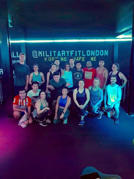 Sweat @ Miltary Fitness; Bottomless Brunch @ Little Blue Door