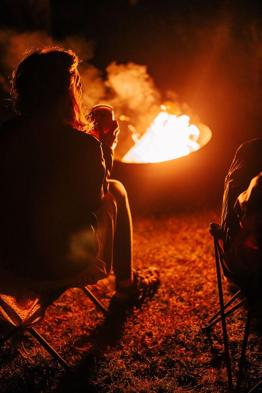 Inspirational Talks & Live Music Around The Campfire