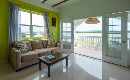 Two Bedroom Lagoon Side Penthouse Apartment (2 person)