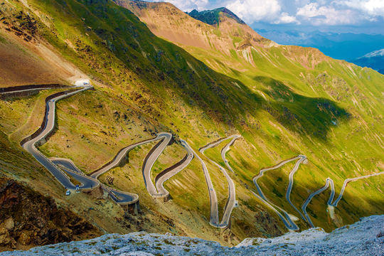Furka & Stelvio Pass, Switzerland & Italy