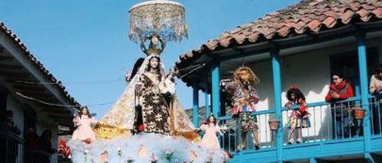 Fiesta Virgen del Carmen in Peru