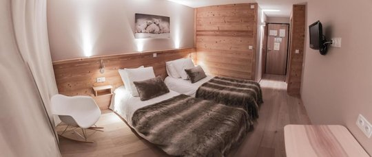 Hotel les Flocons | Twin room