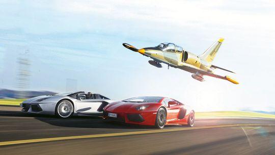 Race a Fighter Jet!
