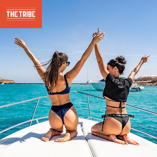 THE TRIBE SUNSET BOAT