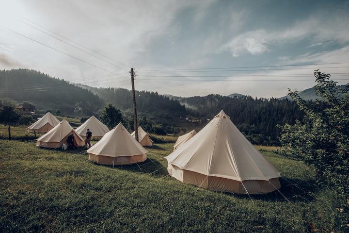 Bell Tent Beauty