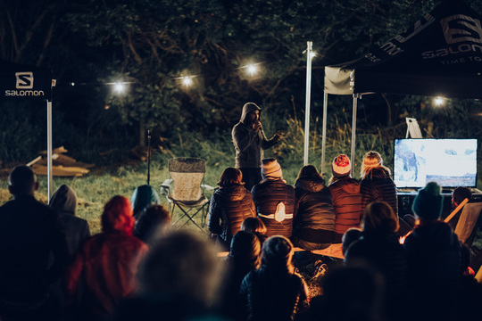 Campfire Stage Talks