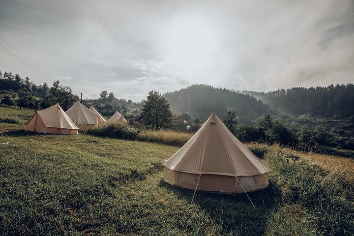 Bell Tent Sunrise