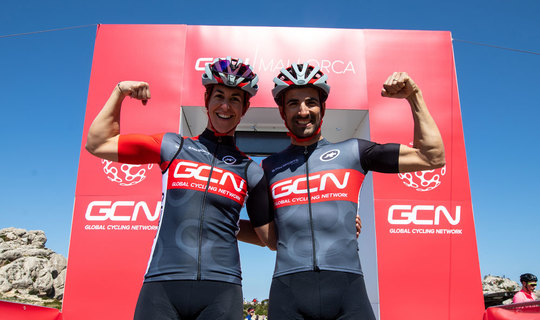 Exclusive GCN Mallorca Cycling Jersey