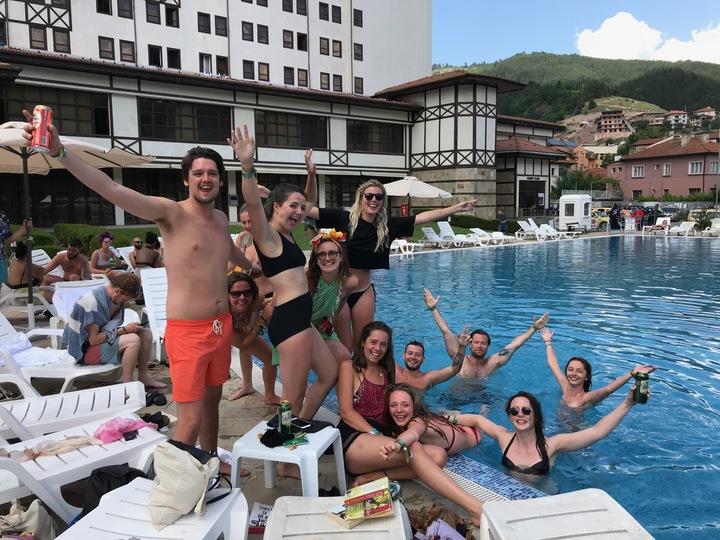 Orpheus pool fun times
