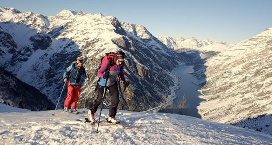 I'm going on an adventure ! 2 jours de ski de randonnée inclus à Risoul.
