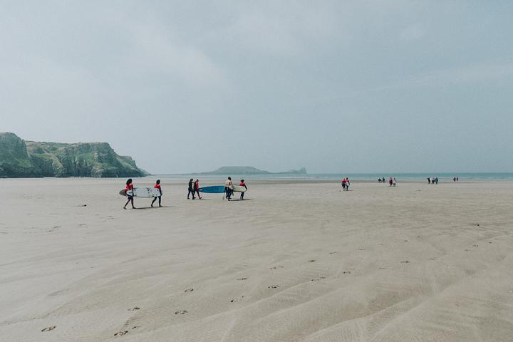 Run to Surfing