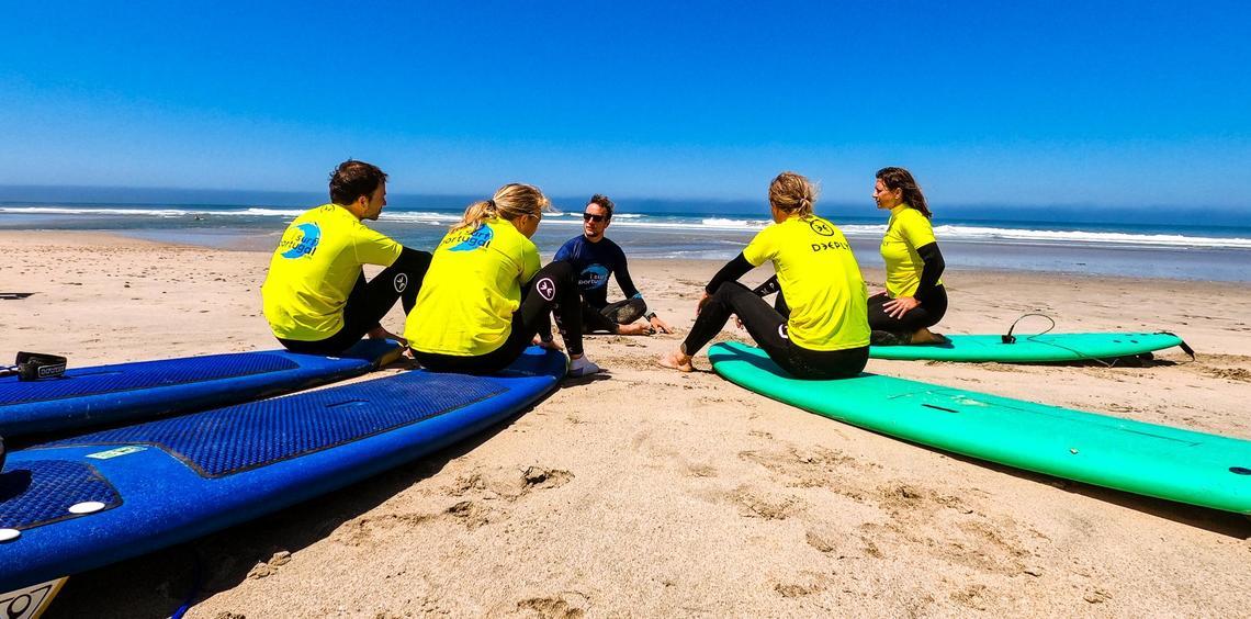 SurflessonsSurfcampEurope