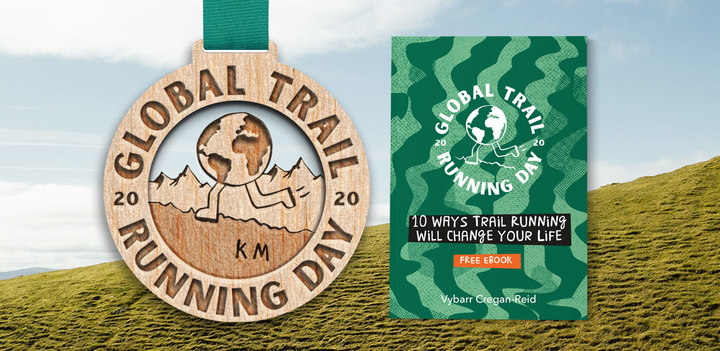 FREE entry + customised eco Global Trail Running Day medal