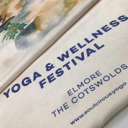 """Yoga mat """"non-slip towels"""""""