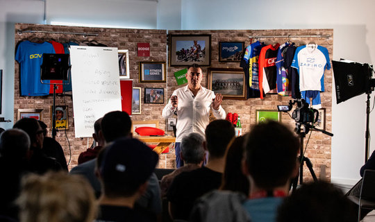 Special events to develop your cycling skills and knowledge
