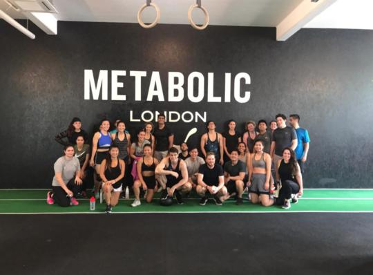 Sweat @ Metabolic; Brunch @  Music & Beans