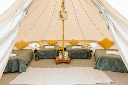 COSY BELL TENT ACCOMODATION