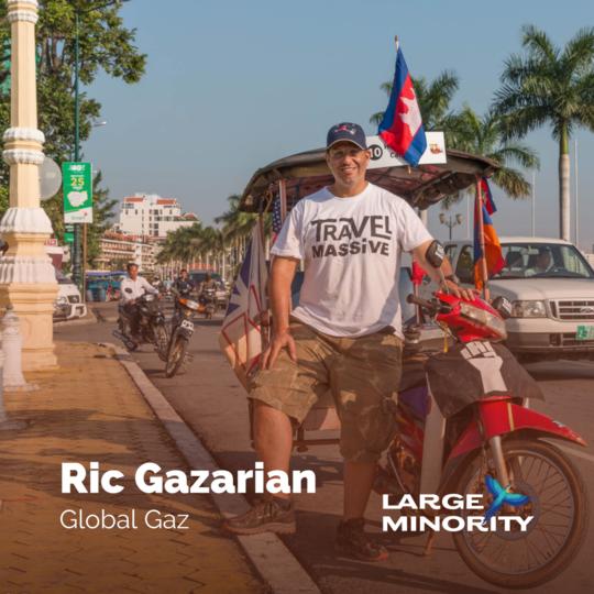 Large Minority Podcast with Rick Gazarian