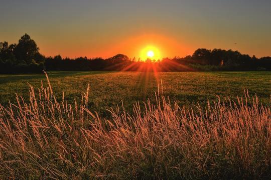 run before sunset