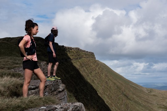 Trail run (or hike) to Fan Hir Ridge