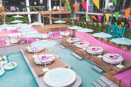Premium Event Day Bed (Pool Deck)