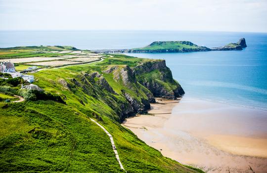 Wales Coastal Path Running