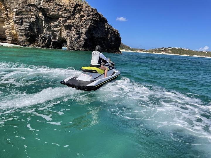 Le Anse Marcel Jet Ski Tour