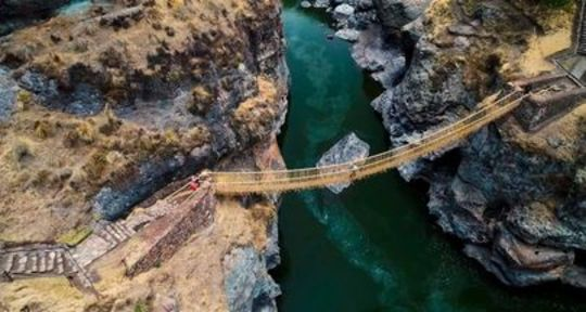 Q'eswachaka Bridge: The Last Inca Bridge