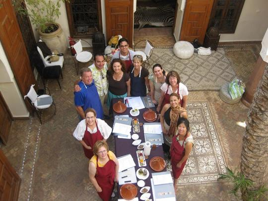 Authentic Moroccan Cooking Class
