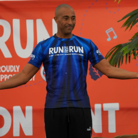Q&A with Colin Jackson