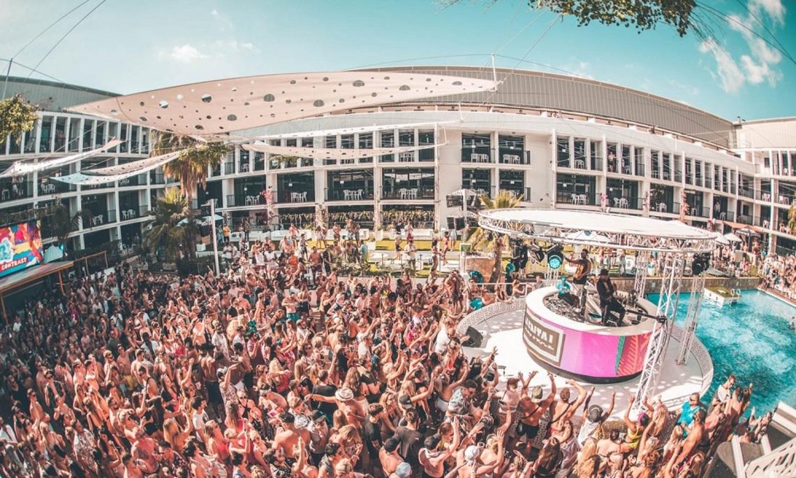 The Amazing Ibiza Rocks Pool and Bar