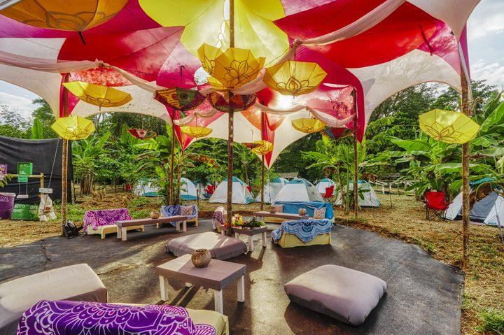 Onsite Camping | Tent Rental | VIP Casa de Luz