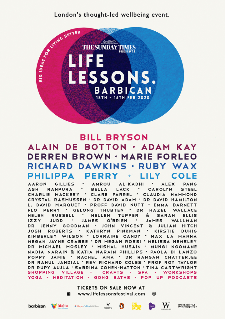 1 Jpeg Life Lessons Poster A3 (Tickets)