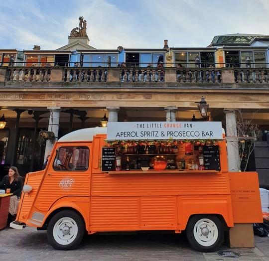 The Little Orange Van