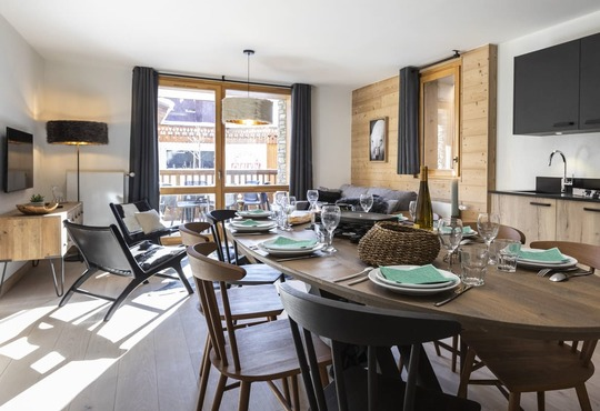 Neige et Soleil | 8 person apartment (4 rooms)