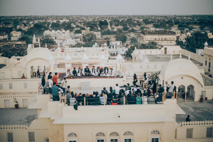 Golden Beats India Rooftop Views